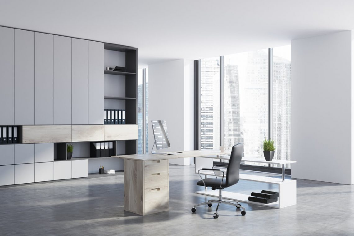 Office storage and work space