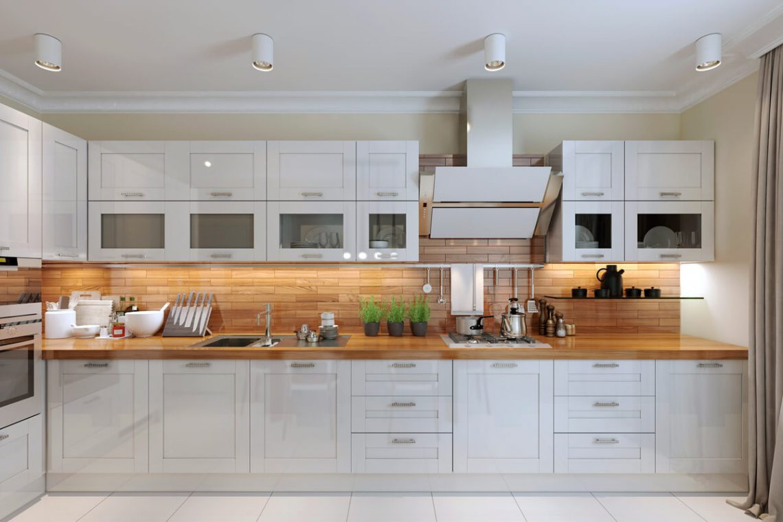 Kitchen shaker cabinets